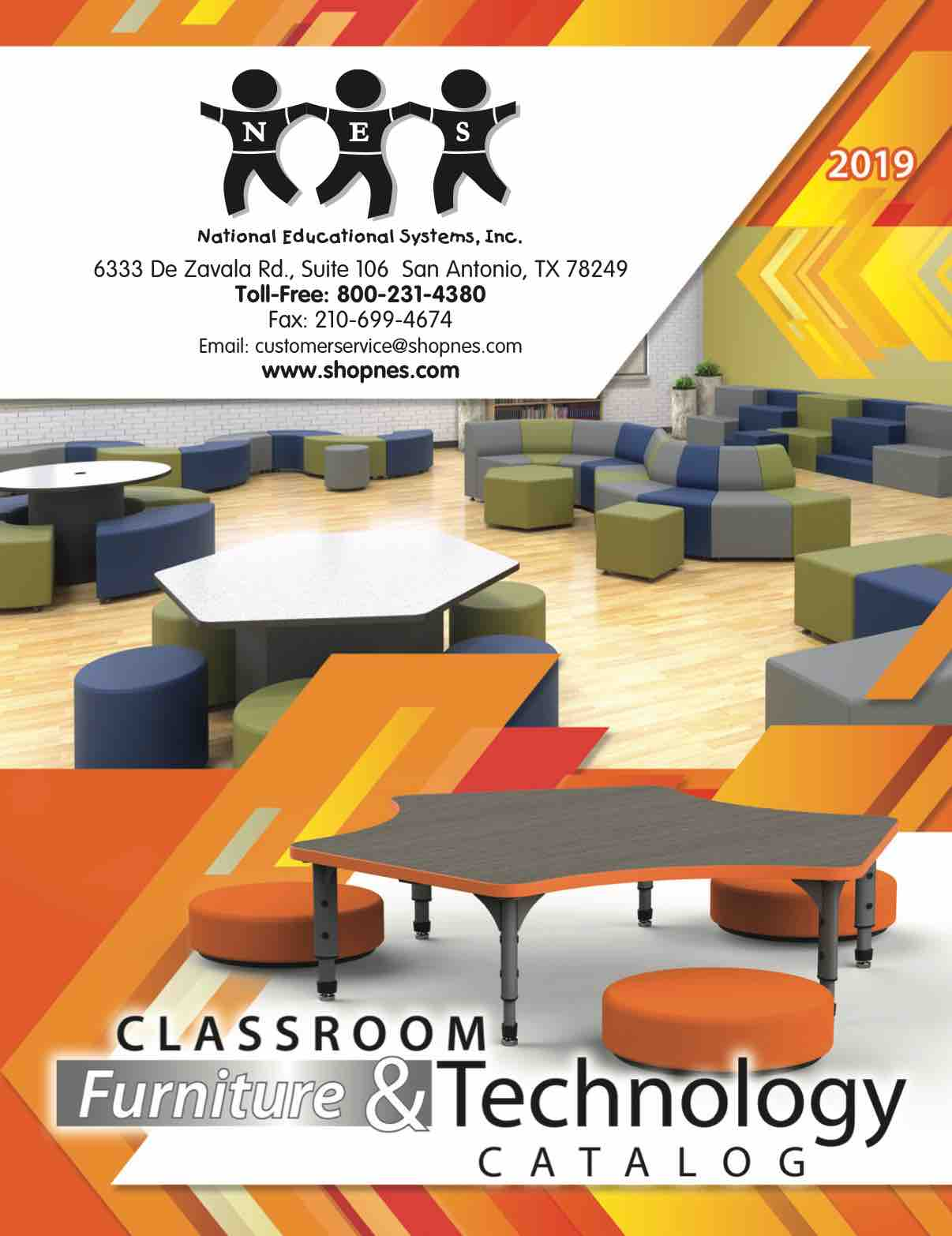 2019 NES Furniture & Technology Catalog